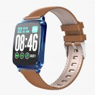 Smart Watch Bracelet Heart Rate Detecting Sports Bracelet Sleep Monitoring Pedometer Blue