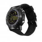 Smart Watch Heart Rate Test Black