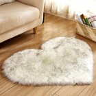 Soft Artificial Plush Rug Chair Cover