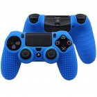 Soft Silicone Case Gel Protective Cover for PS4 pro slim Controller  blue