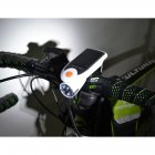 Solar Bicycle Front Light USB Charge Bicycle Light Rotate 360 Degrees  white