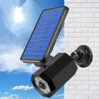 Solar Simulate Camera Outdoor Waterproof Security Sensor LED Wall Light