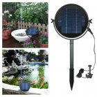 Solar Water Fountain Brushless Submersible Water Pump