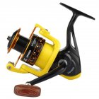 Spinning Fishing Reel Fishing Rod Accessories Baitcasting Metal Fishing Spool  HD5000 type yellow black