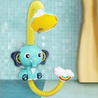 Sprinkler Bath Toy Beach Bathroom Kids Girls Boys Baby Elephant Bathing Water Baby Children Shower Pool Toys Elephant shower (blue)