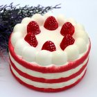 Squishy Toy Slow Rising Cute Strawberry Cake
