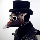 Steampunk Beak Doctor Mask for Halloween Party Cosplay Props