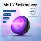 Sterilization Lamp Portable Ultraviolet Germicidal Light for Home Cabinet Car 1pcs