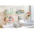 Stylish Adhesive Storage Rack Corner Shelf for Kitchen Bathroom Home Decoration