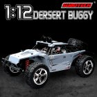 Subotech BG1513 2.4G 1/12 4WD RTR High Speed RC Off-road Vehicle Car Remote Control Car With LED Light gray