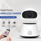 Surveillance Camera Wireless WIFI HD Night Vision Smart Small Monitor Mobile Phone Remote Network Home Monitoring 2#_US Plug
