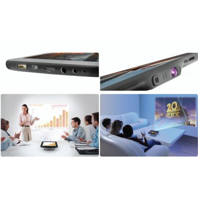 """World's First Android 4 2 Tablet Projector """"Vision"""" 7 inch IPS Screen DLP Pro"""