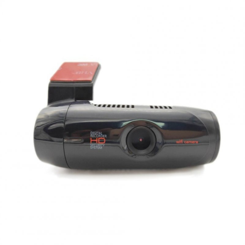 Tachograph Cell-phone-connected Hidden WIFI HD Navigation USB Car Video Recorder black