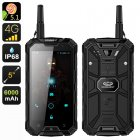 Conquest S8 Pro Rugged Smartphone (Black)