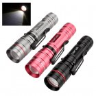 Buy Three CREE T5 LED Flashlights - 300 Lumen, Pen Clip, Adjustable Focus, 3 Modes, Anodized Finish