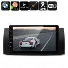 Buy Two DIN Car Media Player BMW - 9-Inch HD Display, Android 5.1, Google Play, Quad-Core CPU, GPS, FM Radio, Bluetooth, Wi-Fi