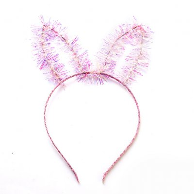 Top Sale Women Girl Fashio Sweet Pom Fur Ball Furry Ears Fluffy Rabbit Fur Ball Women Headband Hair band Pretty Hair Accessories 3#