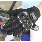 Touch-screen Motorcycle Gloves Shell Protection Electric Bike Bicycle Racing Glove black_L