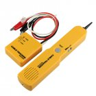 Tracker Diagnose Tone Finder Telephone Wire Cable Tester Toner Tracer Finder Detector Networking Tools yellow