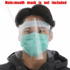 Transparent Anti Splash Dust-proof Protect Full Face Covering Mask Visor Shield Stop the Flying Spit Anti Droplet Randomly