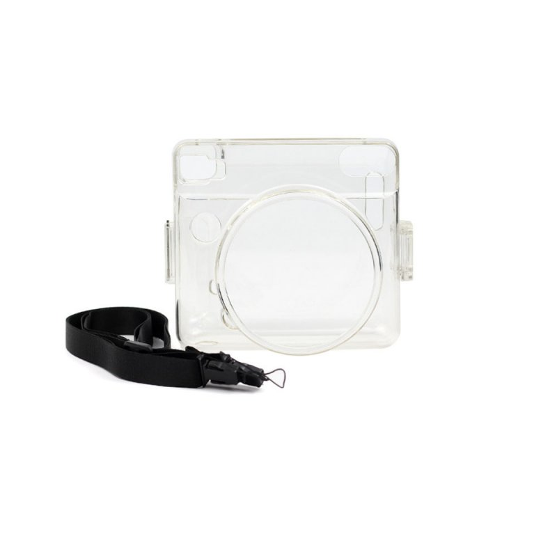 Transparent Crystal Protective Shell Camera Case for FUJIFILM Instax SQUARE SQ6 Transparent
