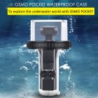 ULANZI For DJI Osmo Pocket Dive Case Housing Waterproof Case Protective Diving Case Shell 60M Depth Camera Osmo Pocket Accessories Transparent