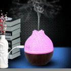 USB Air Humidifier Home Office Mute Mini Aromatherapy Mist Maker Dark crack