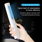 UV Disinfection Lamp Portable Handheld Sterilizer Light Kill Mites Deodorizer