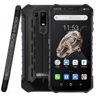 Ulefone Armor 6S Waterproof IP68 NFC Rugged Mobile Phone Helio P70 Otca-core Android 9.0 6GB 128GB wireless charge Smartphone black