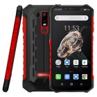 Ulefone Armor 6S Waterproof IP68 NFC Rugged Mobile Phone Helio P70 Otca-core Android 9.0 6GB 128GB wireless charge Smartphone red