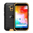 Ulefone Armor X7 5.0-inch Android10 Rugged Waterproof Smartphone Cell Phone 2GB 16GB ip68 Quad-core NFC 4G LTE Mobile Phone Orange_Non-European version