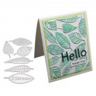 Unique Leaves Shape Group Cutting Dies DIY Scrapbooking Tool 1805063