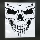 Unique Skull Design PVC Decals Car Cover Stickers Car Body Styling Sticker black