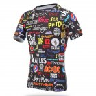 Unisex Cycling Jersey Quick Dry MTB Bicycle Clothing Bike Wear T Shirt Short Sleeve Tops XXL