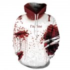 Unisex Fall Winter Digital Print Hoodies Fashion Sweatshirts for Halloween Christmas  QYDM315_S/M