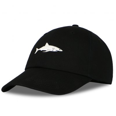 Unisex Shark Embroidery Sports Hat