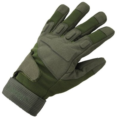 Outdoor Unisex Full Finger Gloves Green  XL