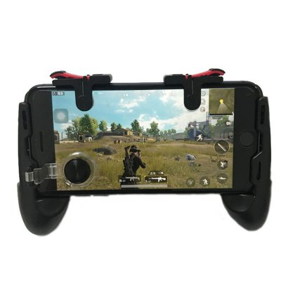 Universal Mobile Game Controller Black