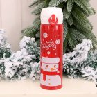 Vacuum Cup Christmas Thermos Stainless Steel Insulated Bottle Tumbler Xmas Gift Vacuum Bottle