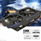 Video Card GTX1050Ti 4GB DDR5 Graphics Cards Desktop Computer Independent HD Game Graphics Card GTX1050Ti 4G