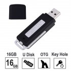 Voice Recorder USB Flash Drive 384Kbps Digital Voice Recording for Windows Mac Android