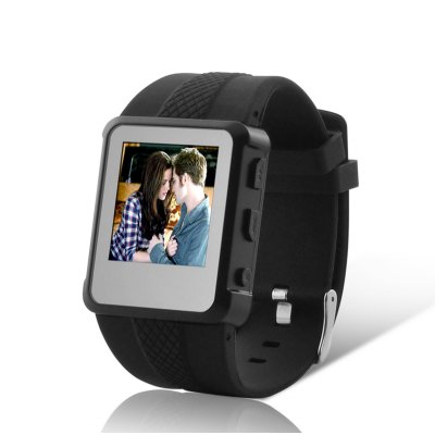 Multimedia MP4 Player Watch w/ Voice Recorder