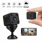 WIFI Mini Camera High Definition Night Vision Home Security Baby Monitoring Camera black