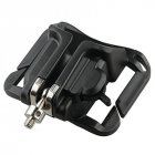 Waist Belt Strap Quick Release Mount Buckle Hanger Holder Clip for DSLR Camera black