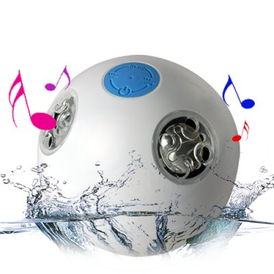 Wholesale Waterproof Bluetooth Speaker Swimming Pool Shower Beach From China