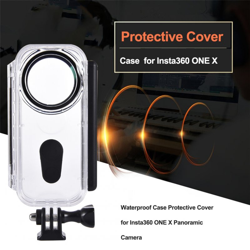 Waterproof Housing Shell for Insta360 ONE X Diving Protective Case Camera Accessories Transparent