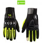 Waterproof Motorcycle Gloves Outdoor Sports Hard Shell Protection Cycling Gloves Touch screen fluorescent yellow_XL