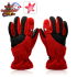 Winter Gloves with LED Light  Red  Medium