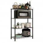 Wire Shelving Metal Storage Rack Organizer for Pantry Closet Kitchen Laundry Organization 4layers