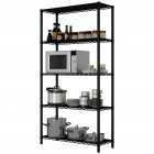 Wire Shelving Metal Storage Rack Organizer for Pantry Closet Kitchen Laundry Organization 5layers
